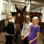 Juni, Felicia, Wilma och Linnea